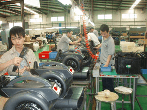 Production line of air movers​
