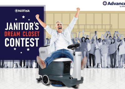 Fall 2019 Janitor's Dream Closet Contest Winner: Fenton Area School District